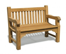 Gladstone Solid Teak Bench