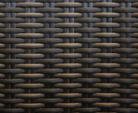 Synthetic wicker