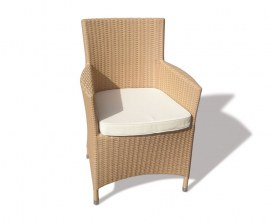 Verona Woven Armchair - Honey Wicker