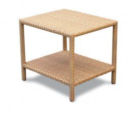 Verona Rattan Garden Side Table