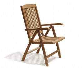 Tewkesbury Teak Reclining Chair