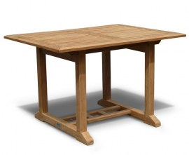 Winchester Teak Outdoor Dining Table - 1.2m x 0.9m