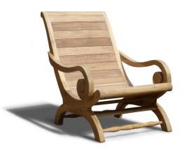 Monte Carlo Reclaimed Teak Colonial Chair