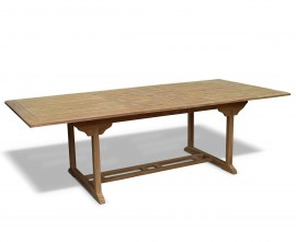 Dorset Teak Extendable Outdoor Dining Table - 1.8 - 2.4m