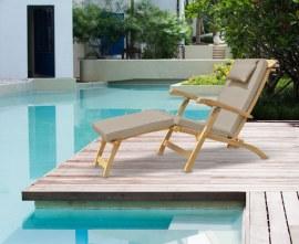 Serenity Wooden Steamer Garden Chair
