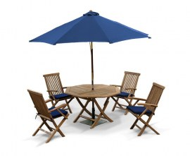 Lymington 4 Seater Outdoor Dining Set