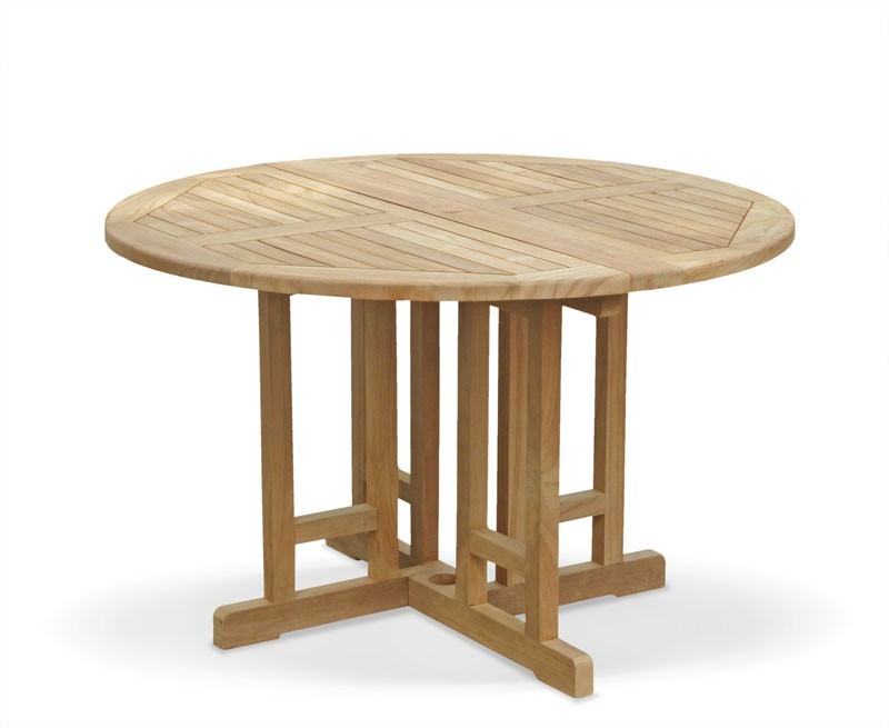 Berwick Round Gateleg Garden Table – 1.2m