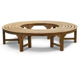 Cosmos Teak Circular Tree Seat