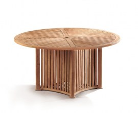Richmond Round Teak Outdoor Dining Table