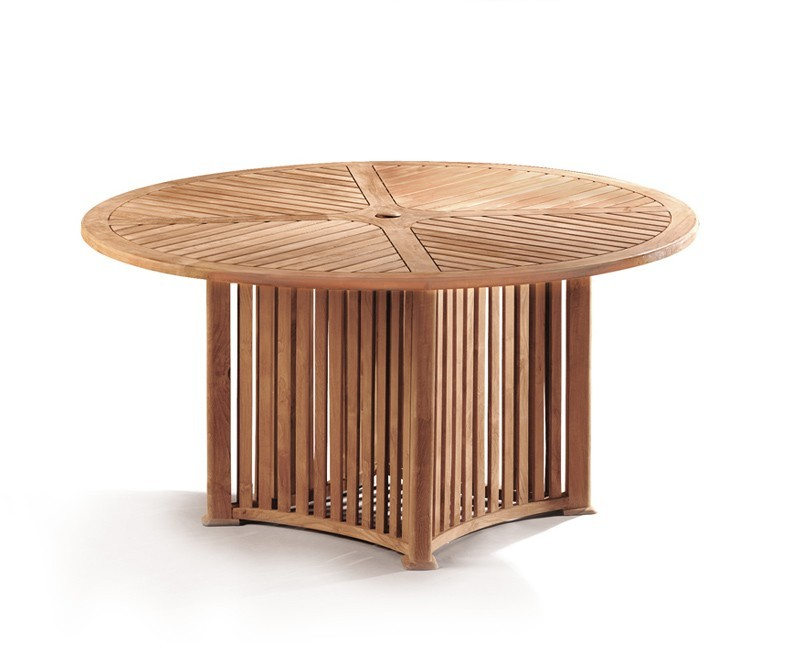 Richmond Round Teak Outdoor Dining Table