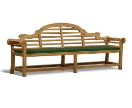 Lutyens Outdoor Bench Cushion - 6 Seater