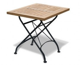 Café Square Folding Bistro Table – 60cm