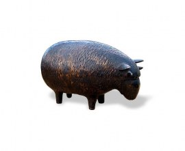 Brass Garden Ornament - Rambaabaa Sheep