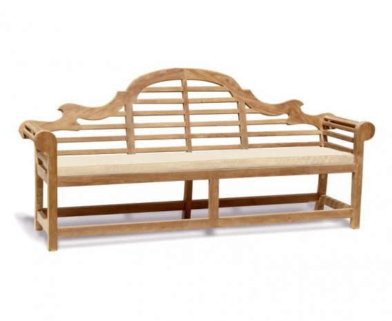 Lutyens-style Outdoor Bench Cushion - 5 Seater