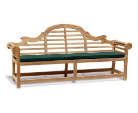 lutyens-style extra large bench cushion