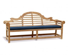 Lutyens-style Garden Bench Cushion – 2.25m