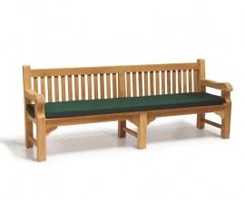 2.4m Garden Bench Cushion Pad