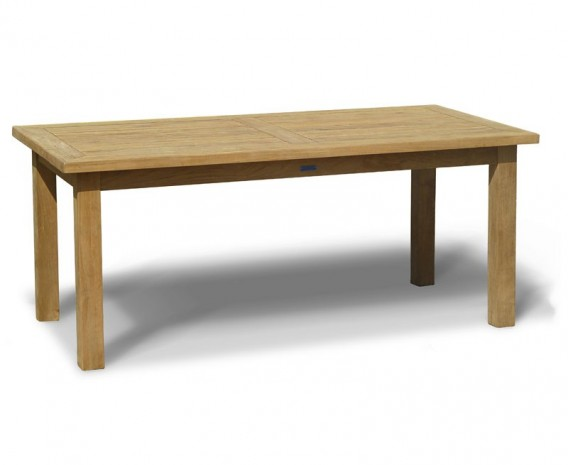 Gladstone Teak Rectangular Dining Table - 1.8 x 0.9m