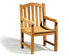 Gloucester Teak Outdoor Armchair