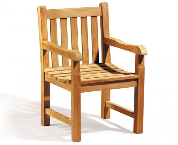 York Teak Outdoor Armchair