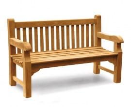 Gladstone 1.5m Teak Bench