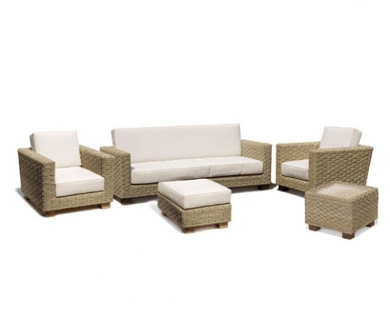 Water Hyacinth Conservatory Sofa Set
