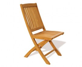 Cannes Teak Folding Garden Chair