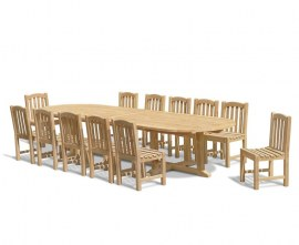 Winchester 12 Seater Garden Dining Set