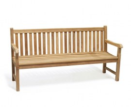 York 4 Seater Garden Bench - 1.8m