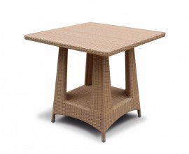 Verona Flat Weave Garden Table