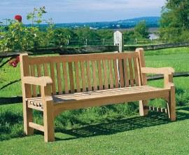 Gladstone Chunky Garden Bench