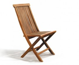 Newhaven Teak Folding Side Chairs