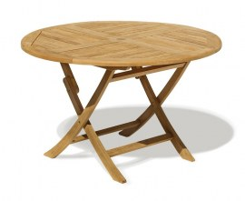 Lymington Round Folding Garden Table