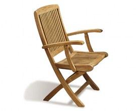 Berwick 1.2m Folding Table and Palma Folding Chairs Set