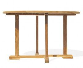 Sissinghurst Pedestal Teak Table