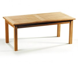 Winchester Rectangular Teak Coffee Table - 1.2m