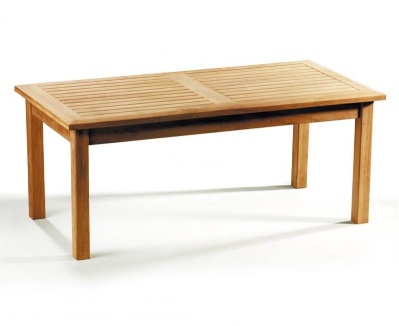 Winchester Rectangular Teak Coffee Table - 1.2m