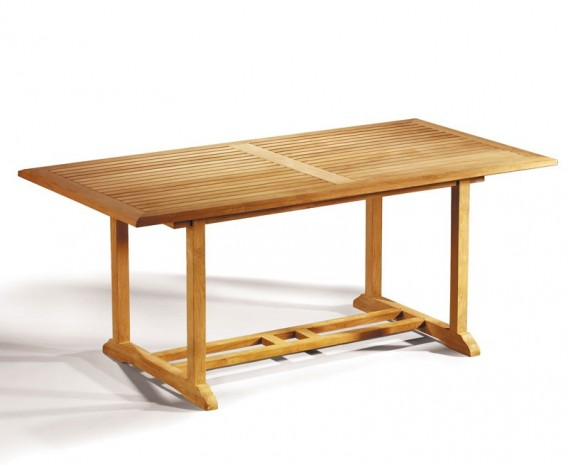 Winchester Teak Patio Dining Table - 1.8m x 0.9m
