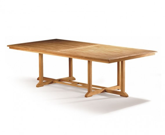 Winchester Teak Outdoor Dining Table - 2.6m x 1.3m