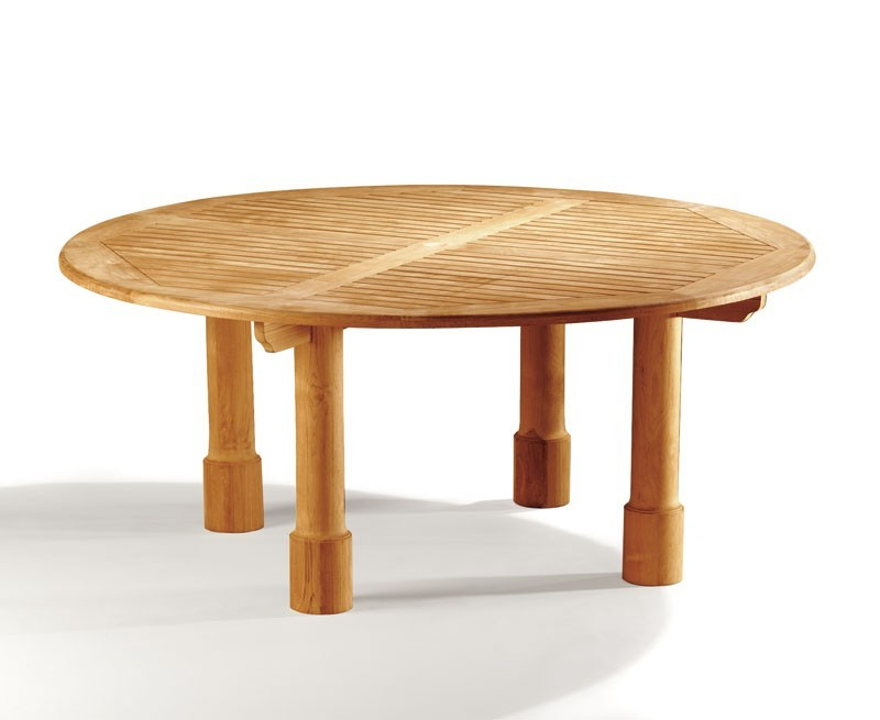 Orion Round Outdoor Dining Table, Round Leg – 1.8m