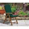 Cannes Folding Garden Recliner Chairs