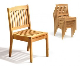 Winchester Stacking Chairs and Table Set