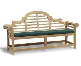Lutyens-Style Bench and Armchairs Set