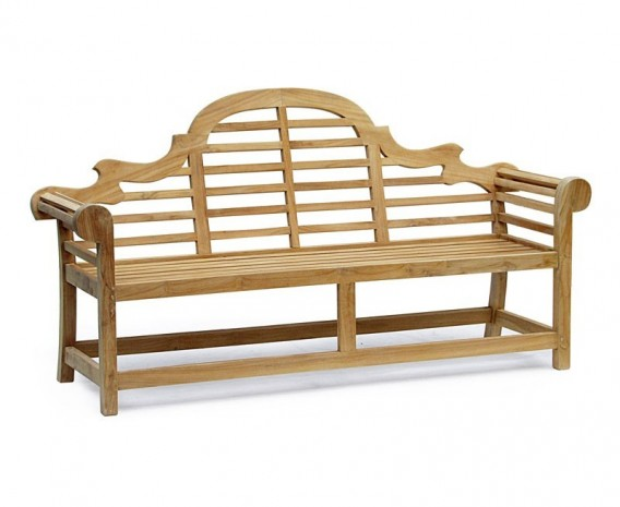 Lutyens-Style 1.95m Bench, Armchairs & Side Tables, Conversation Set
