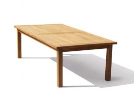 Gladstone Teak Rectangular Garden Dining Table - 2.5m