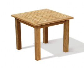 Gladstone Teak Square Garden Dining Table - 90cm
