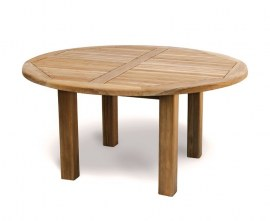 Orion Teak Round Garden Table – 1.5m