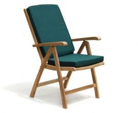 Tewkesbury Teak Recliner Armchair