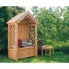 Teak Garden Rose Arbour Bench
