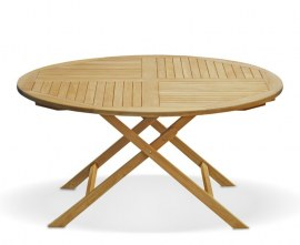 Lymington 1.5m Round Folding Table